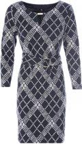 K Design Isabel O409 jurk met riem M