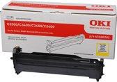 OKI 43460205 printer drum 15000 pagina's Geel