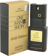 Jacques Bogart One Man Show Gold Eau De Toilette Spray 100 ml For Men