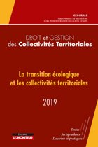 Droit et gestion des Collectivités Territoriales - 2019
