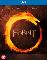 DVD cover van The Hobbit Trilogy (Blu-ray)