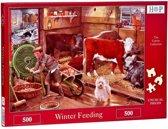 Winter Feeding Puzzel 500 stukjes