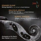 String Quartet Arr. For Strings