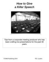 How to Give a Killer Speech