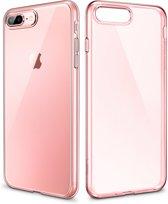 iPhone 7 / 8 - hoesje ESR Essential Zero – flexibel, dun & licht – Roze / transparant