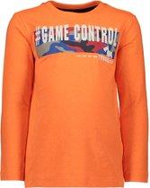 TYGO & vito Jongens Neon t-shirt - neon oranje - Maat 122/128