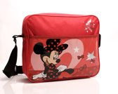 MINNIE MOUSE Lipstick Omhang Schoudertas School Tas Retro Lief