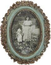 2F0101 - Fotolijst - 17 x 21 / 10 x 15 cm - kunststof - groen