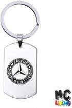 Sleutelhanger RVS - Mercedes