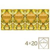 Pukka Lemon Ginger & Manuka Honey Biologische thee - 4x20 theezakjes