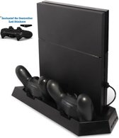 Standaard voor Playstation 4 of PS4 Slim - Oplaad station - PS4 Vertical Stand Docking Station