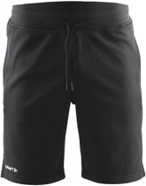 Craft In-the-zone Sweatshort - Sportbroek - Heren - 3XL - Black/White