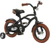 2Cycle Cruiser Kinderfiets - 12 inch - Mat Zwart