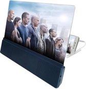 Telefoon Vergrootglas met Bluetooth Speakers - 12 inch scherm voor je smartphone