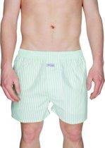 Pockies Mint Stripes Boxershort - Lichtgroen - Maat XXL
