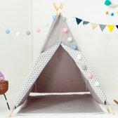Blitsr Tipi Speeltent voor Kinderen - Inclusief accessoires - Grijs