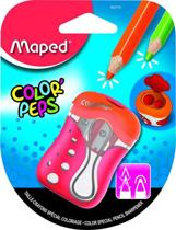 Color'peps potloodslijper 2-gaats - rood/oranje