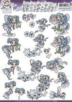 3D Knipvel - Yvonne Creations - Magical winter - Fairies