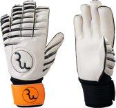 RWLK Goalkeeper handschoen Premium Hybrid oranje hybrid cut, maat 8