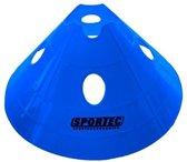 Sportec Afbakenbollen Prof Groot Soft Plastic 10 Stuks Blauw
