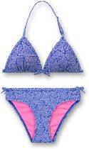 Sanetta Meisjes Bikini - Blauw - Maat 164