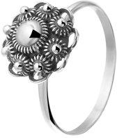 Lucardi - Zilveren ring met Zeeuwse knoop 10mm