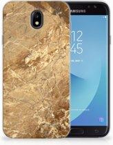 Samsung Galaxy J7 2017   J7 Pro TPU siliconen Hoesje Design Marmer