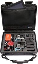 UKPro POV40 schokbestendige, waterproof Case met handvat - zwart
