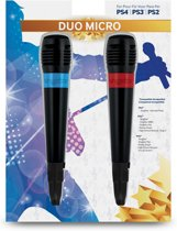 Twee officiële Singstar-microfoons (PS4 + PS3 + PS2)