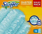 Swiffer Duster Trap & Lock - 15 Stuks - Navul Stofdoekjes
