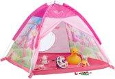 Speeltent Roze meisjes - kindertent - speelhuis - fee - 3 jaar - binnen, buiten