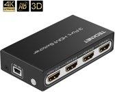 TeckNet 4K HDMI Switch 3 poort HDMI Auto Switcher Box Support 4K 3D 1080P voor PS3, PS4, Laptop, PC, Xbox One, Blu-ray Player, DVD Speler, TV en meer