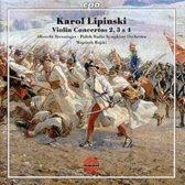 Violin Concertos Nos. 2,3 & 4
