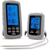 4cookz 2 sensoren draadloze BBQ thermometer - 0-300 gr.