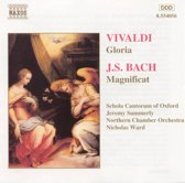 Vivaldi: Gloria;  Bach: Magnificat / Summerly, Ward