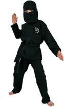 Zwart Ninja kostuum voor kinderen 140 (10 jaar)