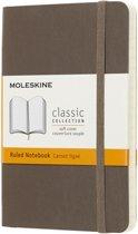 Moleskine classic notitieboek bruin - Pocket - Soft cover - Gelinieerd
