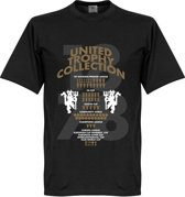 Manchester United Trophy Collection T-Shirt - XS