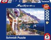 Schmidt puzzel Afternoon in Amalfi 2000 stukjes