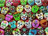 Cobble Hill puzzle 1000 pieces - Sugar Skull Cookies