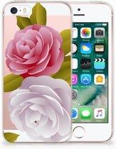 iPhone SE | 5S Uniek TPU Hoesje Roses