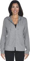 Coolibar UV hoodie Dames - Grijs - Maat 40