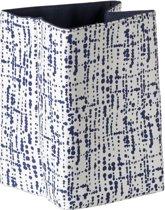 Cosy & Trendy Mand Magic Fabric - 25 cm x 25 cm x 30 cm - Wit-Blauw