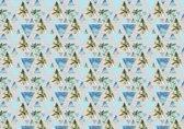 Fotobehang Vlies   Modern   Blauw   368x254cm (bxh)
