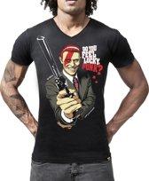 LIGER X David Bowie/Dirty Harry Limited Edition van 360 stuks - T-Shirt - Maat M