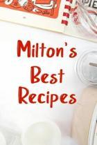 Milton's Best Recipes