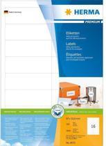 Herma Labels white 96,5x33,8 SuperPrint 1600 pcs.
