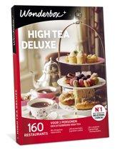 Wonderbox Cadeaubon - High Tea Deluxe
