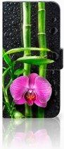 Honor View 20 Boekhoesje Design Orchidee