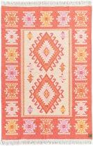 Kaira Vloerkleed - 120x180 - Oranje - by Okashi Heritage